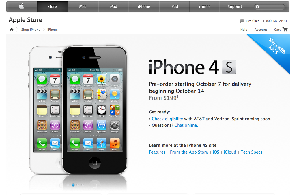 Apple IPhone 4S Announced 1080P HD Video With Image Stabilization