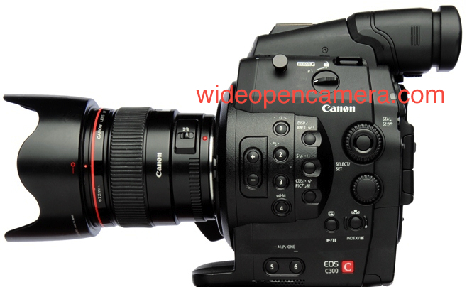 Canon Announces The New Cinema EOS C300 Super 35 Video Camera ...
